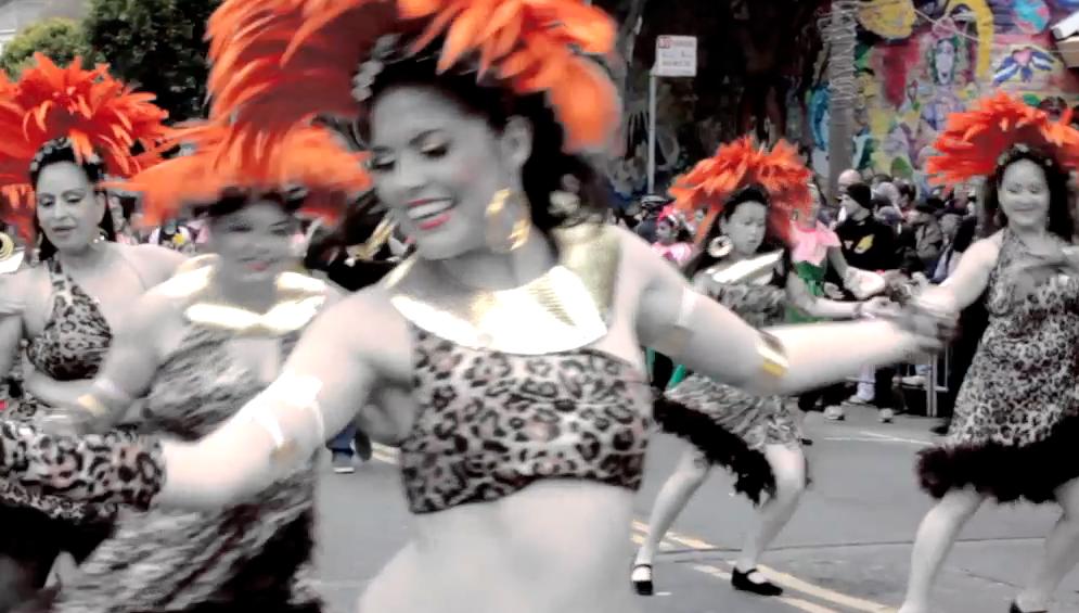 S.F.  Carnaval Parade 2012